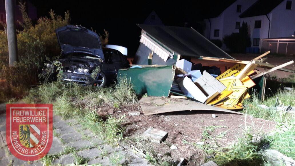 Verkehrsunfall – Freiwillige Feuerwehr Nürnberg-Katzwang